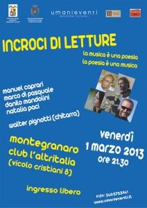 INCROCI DI LETTURE 2013