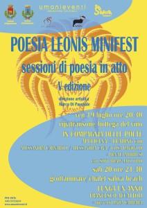 POESIA LEONIS MINIFEST 2013