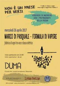 Marco Di Pasquale - Formula di vapore