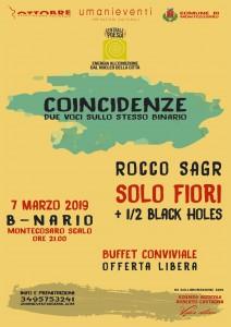 COINCIDENZE – ROCCO SAGR – SOLO FIORI @ B-NARIO
