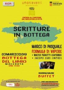 """""""SCRITTURE IN BOTTEGA"""": DOMENICA DI LETTURA E ARTI NEL CENTRO STORICO DI MACERATA"""